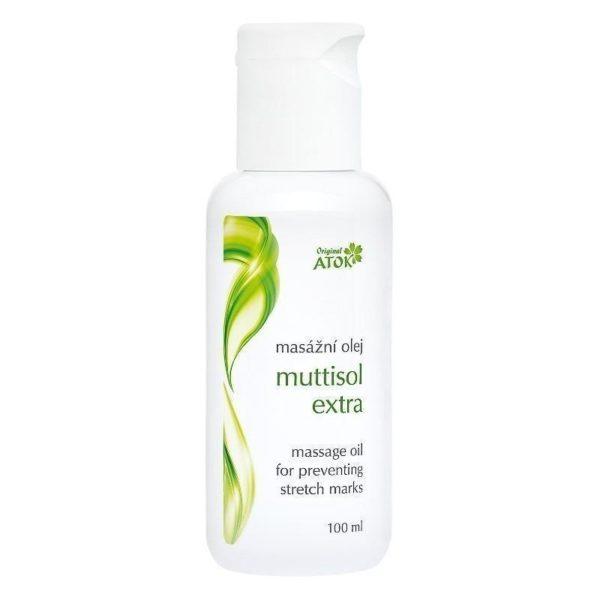 Masažo aliejus Muttisol extra mamoms strijų profilaktikai-290
