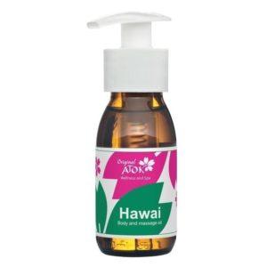 Kūno ir masažo aliejus HAWAI-72