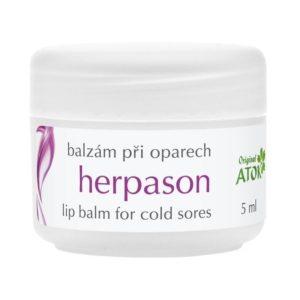 Lūpų balzamas HERPASON prie pūslelinės-79